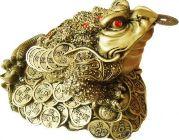 талисман богатства фен-шуй трехпалая жаба